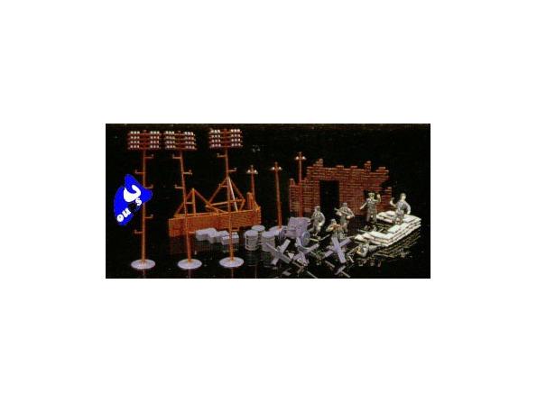 Fujimi maquette militaire 761091 Set Acc Diorama 1/76