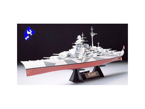 tamiya maquette bateau 78015 Tirpitz 1/350