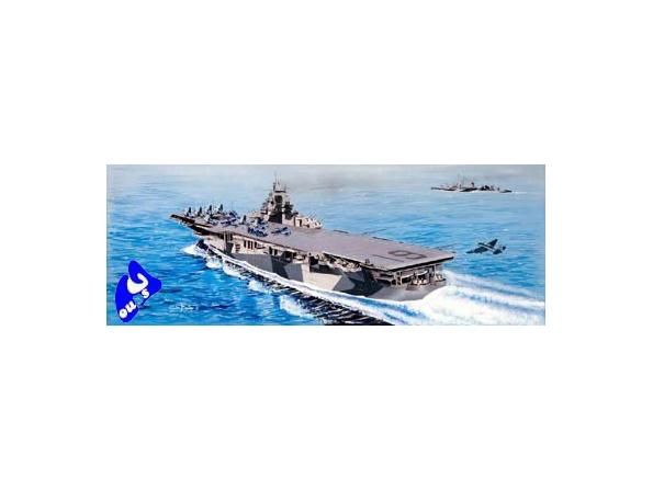 "trumpeter maquette bateau 05610 PORTE AVIONS USS CV-19 ""HANCOCK"""