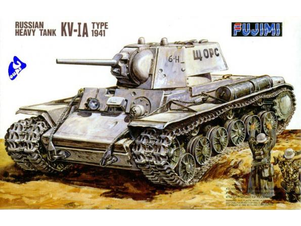 Fujimi maquette militaire 76018 KV-IA 1/76
