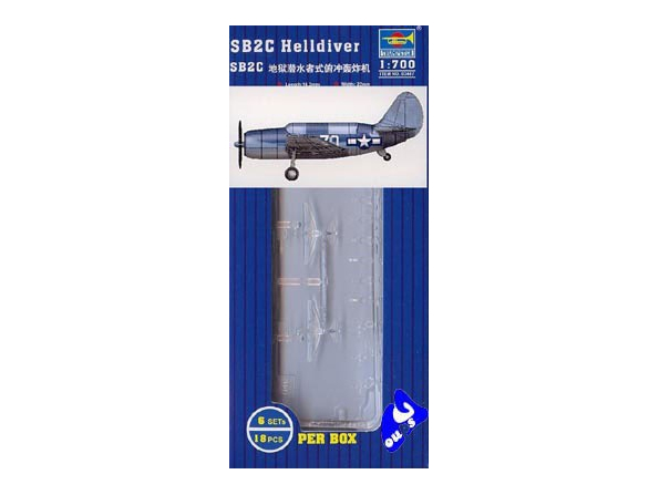 Trumpeter maquette avion 03407 SET DE 18 AVIONS SB2C HELLDIVER 1