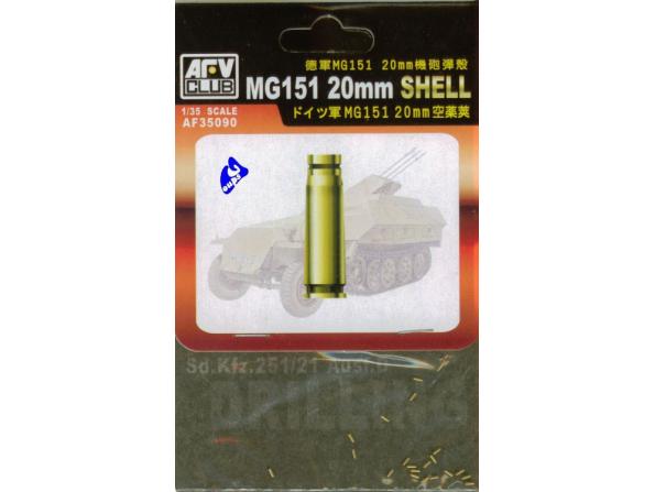 afv club maquette militaire 35090 Douilles MG151 20mm Laiton 1/3