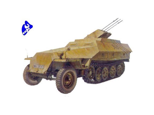 afv club maquette militaire 35082 SdKfz251/21 1/35
