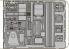 EDUARD photodecoupe 32623 Me 262B-1 Schwalbe interior S.A. 1/32