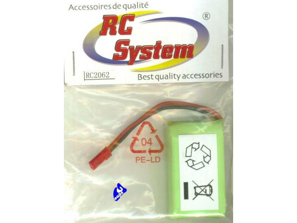 RC System 2062 Accu LI-PO MICROCOPTER