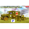 Academy maquette militaire 13403 Ambulance & tow truck 1/72