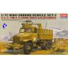 Academy maquette militaire 13402 6x6 truck & accessoires 1/72