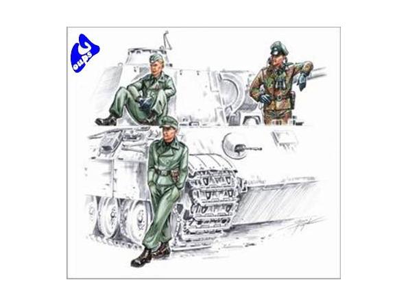 cmk f72141 EQUIPAGE DE CHAR WAFFEN SS 1/72