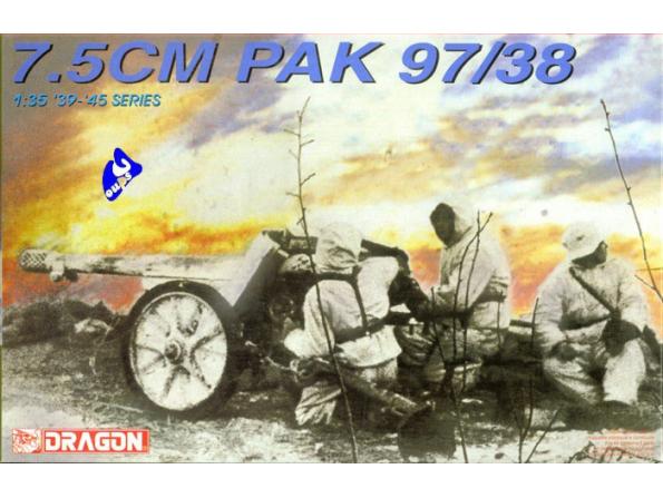 dragon maquette militaire 6123 Pak 97/38 7.5cm 1/35