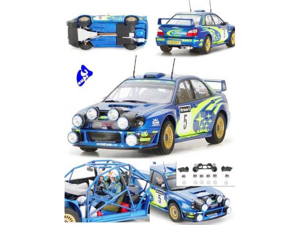 tamiya maquette voiture 24250 subaru wrc 2001 1/24