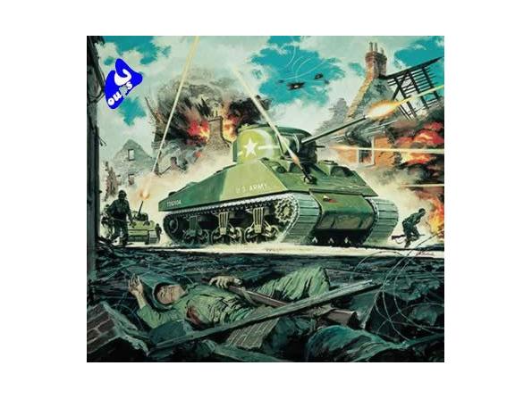 Airfix maquette militaire 01303 M4 Sherman Mk I Tank 1/76