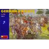 Mini art figurine historique 72011 CHEVALIERS ALLEMANDS XVe 1/72