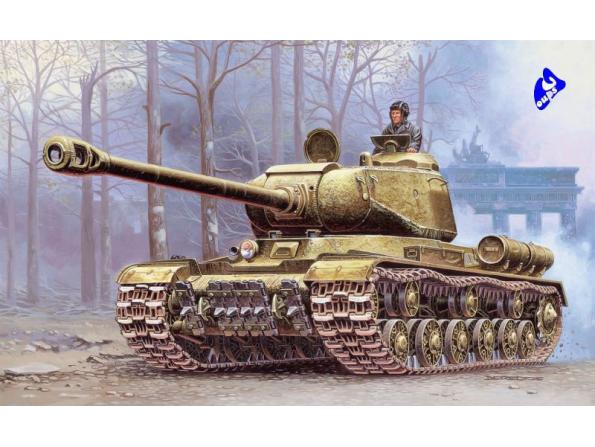 italeri maquette militaire 7040 JS-2 Stalin 1/72