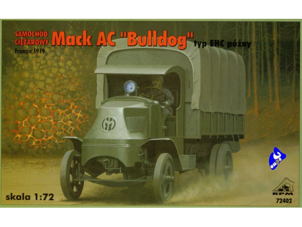 "Rpm maquettes militaire 72402 Mack AC ""Bulldog"" 1/72"
