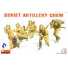 Mini art maquette militaire 35031 ARTILLEURS SOVIETIQUES 1/35