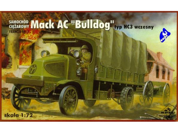 "Rpm maquettes militaire 72401 Mack AC ""Bulldog"" 1/72"