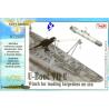 CMK Maquettes Bateau n72007 grue pour torpille 1/72