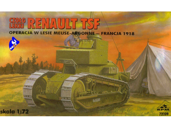 Rpm maquettes militaire 72209 Renault TSF 1/72