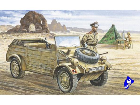 Italeri maquette militaire 0312 Kubelwagen 1/35
