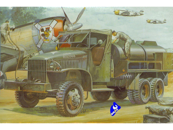 Hasegawa maquette militaire 31121 GMC CCKW-353 1/72