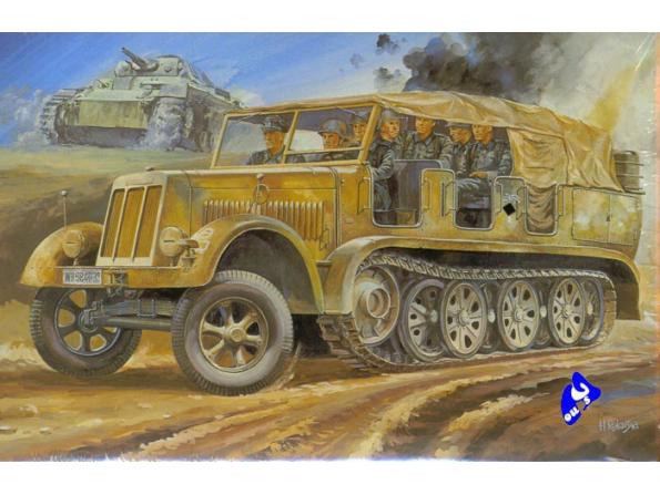 Hasegawa maquette militaire 31111 Half Track 8t 1/72