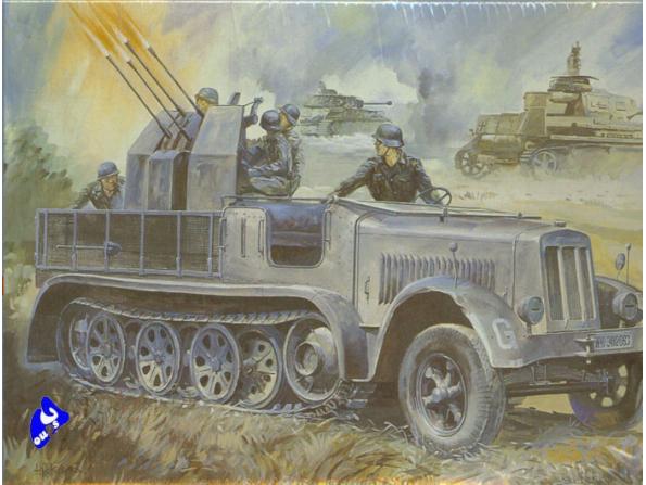 Hasegawa maquette militaire 31114 Half Track 1/72