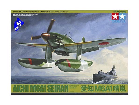 Tamiya maquette avion 61054 Aichi M6A1 Seiran 1/48