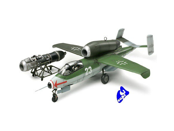 "Tamiya maquette avion 61097 Heinkel He162 A2 - ""Salamander"" 1/48"