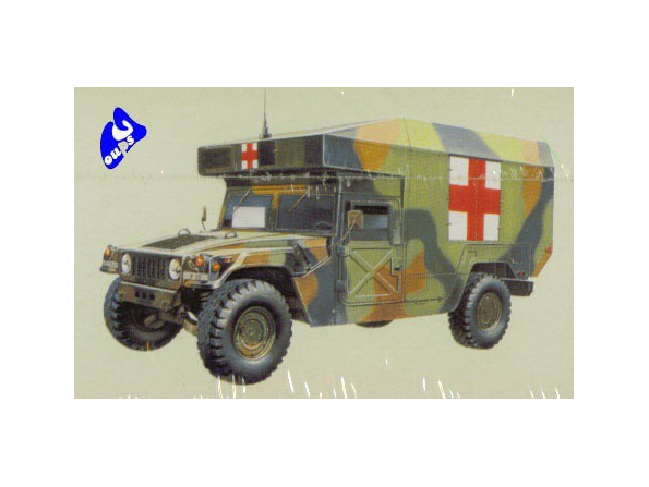 Academy maquette militaire 1352 M997 Maxi-ambulance 1/35