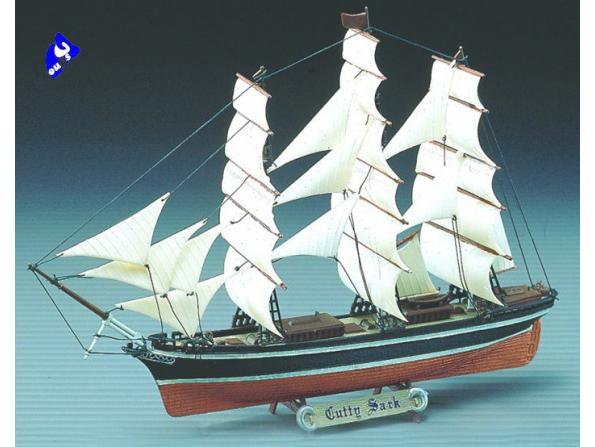 Academy maquettes bateau 1406 Cutty Sark 1/350