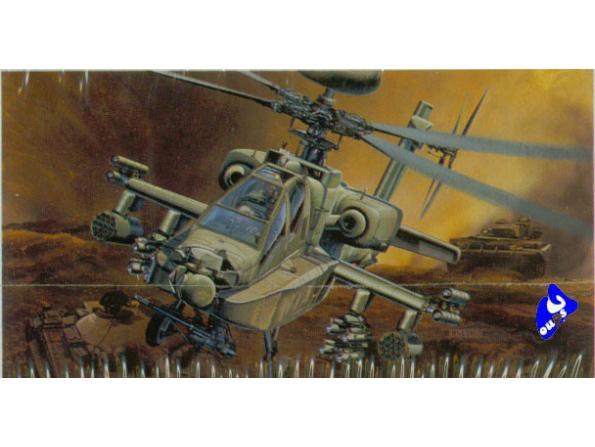 Academy maquettes avion 2125 AH-64D Longbow 1/48