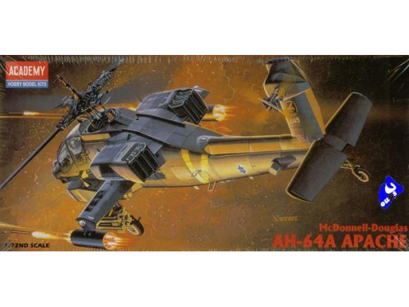 Academy maquettes avion 2138 AH-64A Longbow 1/72