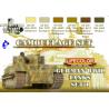 Lifecolor peinture cs01 set camouflage Tanks Allemand