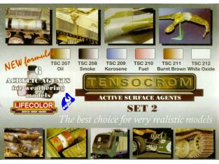 Lifecolor peinture TSC02 Tensocrom Set2