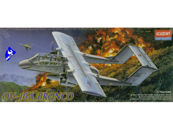 Academy maquettes avion 1665 OV-10A Bronco 1/72