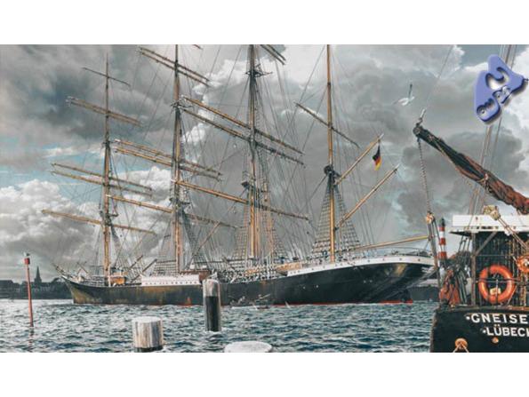 Heller maquette bateau 80888 Passat 1.150