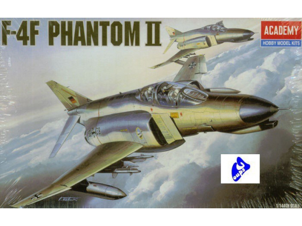 Academy maquettes avion 4437 F-4F Phantom II 1/144