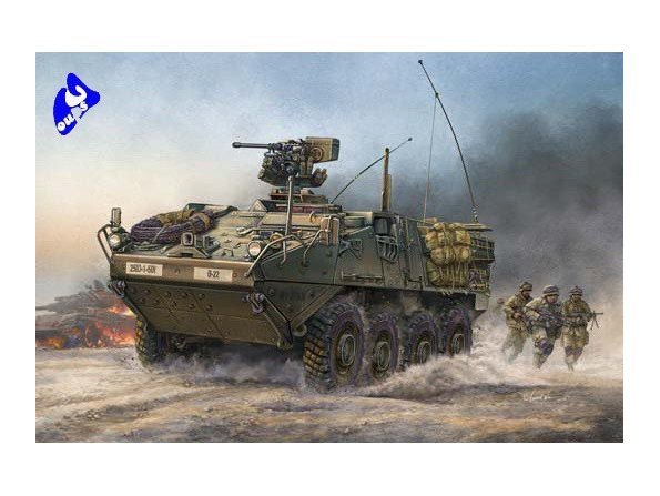 """Trumpeter maquette militaire 00375 M1126 """"Stryker"""" (ICV) 1/35"""