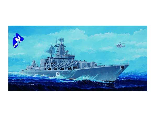 """Trumpeter maquette bateau 04518 Destroyer Sovietique """"Moskva"""" 1/"""