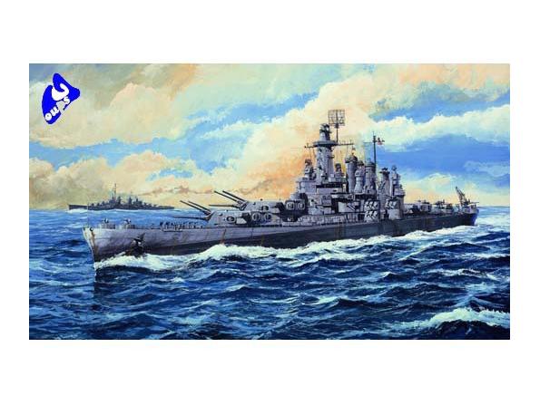 Trumpeter maquette bateau 05735 U.S.S Washington BB-56 1/700