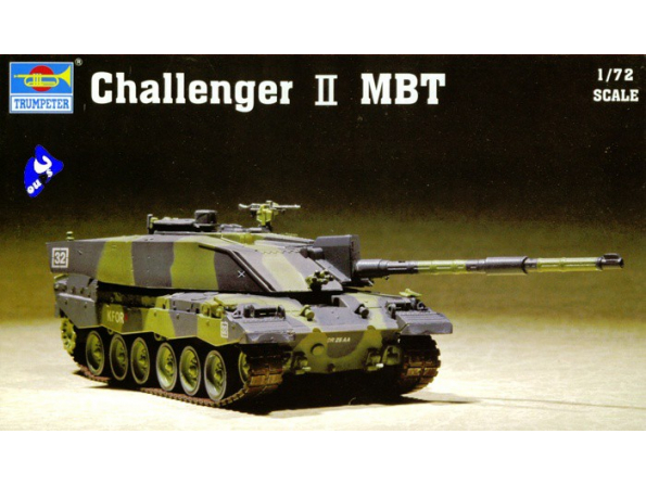 Trumpeter maquette militaire 07214 Challenger II MBT 1/72