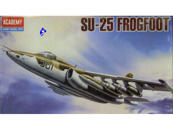 Academy maquettes avion 4439 SU-25 Frogfoot 1/144
