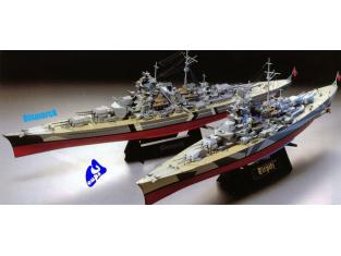 tamiya maquette bateau 78013 bismarck 1/350