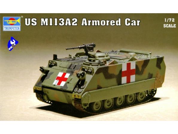 Trumpeter maquette militaire 07239 US M 113A2 1/72