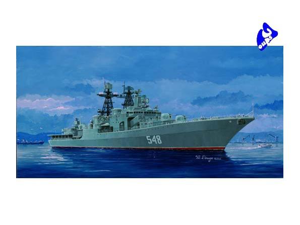 "Trumpeter maquette bateau 04516 ""ADMIRAL PANTELEYEV"" 1/350"