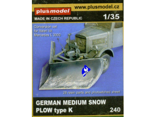 Plus Model 240 Lame chasse neige 1/35