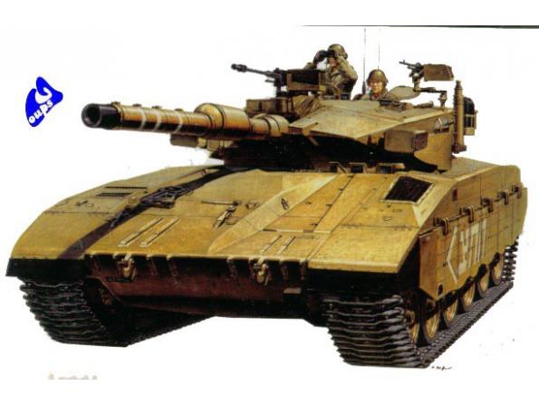 Academy maquette militaire 1391 Merkava Mk.III 1/35