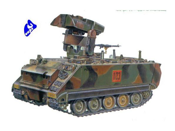 Academy maquette militaire 1361 M981 FISTV 1/35