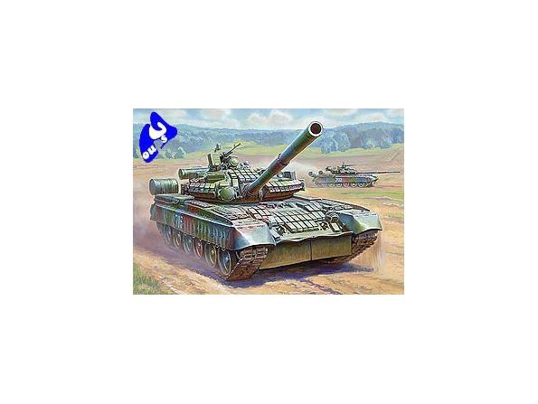 Zvezda maquette plastique 3592 Char T-80BV 1/35