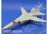 EDUARD photodecoupe avion 48695 Exterieur Su-24 M Fencer D 1/48